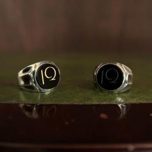 12 ONYX RING ~silver~ 12オニキスリング シルバー