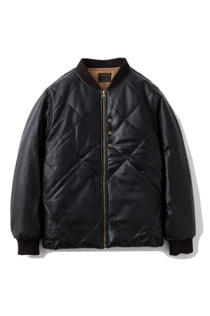 """AT-DIRTY(アットダーティー)/""""ATD WP LEATHER JACKET""""(BLACK)"""