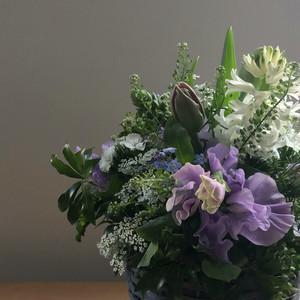 季節の花のアレンジメントS