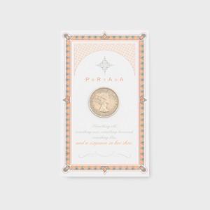 PORTADA  LUCKEY SIXPENCE COIN (ポルターダ シックスペンスコイン)
