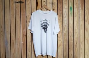 PIZZA design T-shirts(ホワイト)