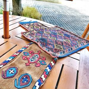 キリムで作った装飾品-飾り用-