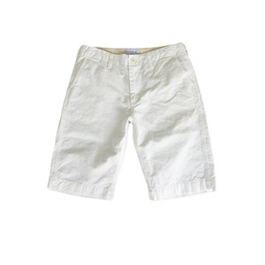 【SALE】have a good day overdye trousers shorts White