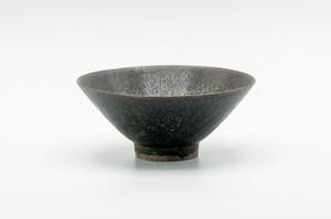 黒滴秞飯茶碗 小