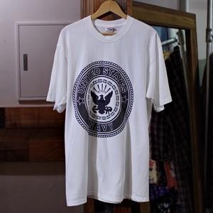 New Old Stock. 1990〜00s US NAVY Reflector T-Shirt / 90年代 USN リフレクター Tシャツ デッドストック