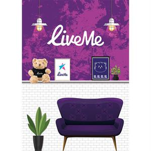 LiveMe公式フラッグ【ライブミーベア】