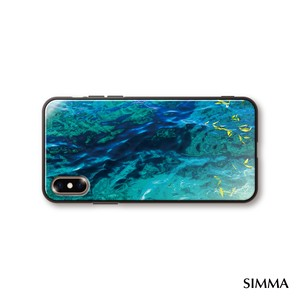 【The_design_of_the_sea】by 小野澤篤人/AMAZONICA iPhoneケース