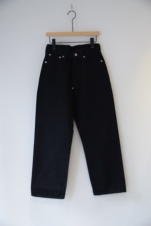 【ordinary fits】OM-P108B / FARMER 5P BLACK DENIM