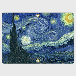 The Starry Night Pass Case