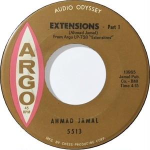 Ahmad Jamal – Extensions