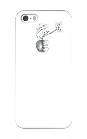 [5.5s.se]iPhoneケース死んでるリンゴ死んでるリンゴ白黒
