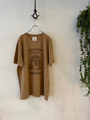 TACOMA FUJI RECORDS / TACOMA FUJI COFFEE DYE HANDWRITING LOGO
