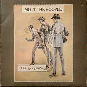 【LP】MOTTO THE HOOPLE/All The Young Dudes