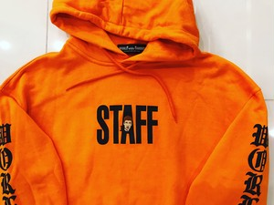 WORLD wide FAMOUS TRIBAL STAFF SWEAT [ORANGE]