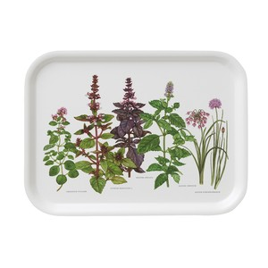 トレー 27 x 20 KOUSTRUP & CO. - Herbs in the Garden 庭園のハーブ