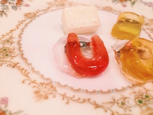 "cukr - ""Gummi & Candy Brooch""(4 set)"