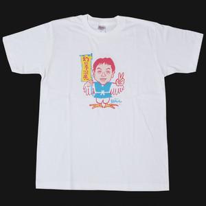 SYT 山ちゃんTシャツ 鳥男 パステルピンク