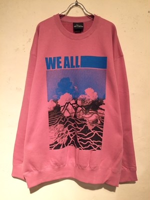 "CREWNECK BIG SWEAT ""Ver.3"" (PINK)"