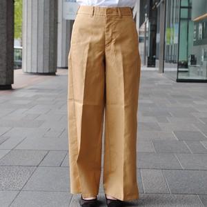 【PULETTE】COTTON SIDE SLIT PANTS