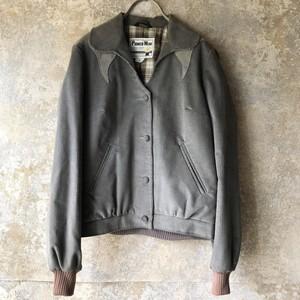 80'sUSA/corduroy&suede design  jacket