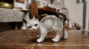 猫の置物 イギリス
