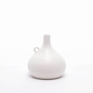 asanomi 花器2200 白 【陶器 一輪挿し】20210621-03