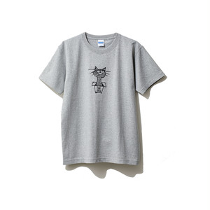 hntbk2024 Maskita Laba feel so good TシャツGRAY