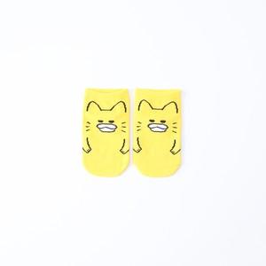 キッズソックス 13-15cm【ノラネコぐんだん】