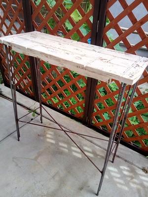 【オーダー特注品】フレンチシャビーシック 小テーブル