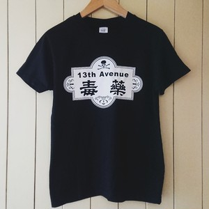 毒薬/13th Avenue T-shirts col.blk