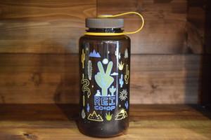 新品 REI Nalgene Bottle 1L 32oz made in USA G0366