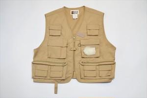 USED 90s STREAM DESIGNS Fishing Vest -Medium V0501