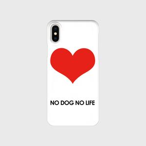 NO DOG NO LIFE  iPhone X/XS  ♪ハピマナ♪ドネーション