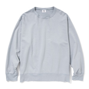 "Just Right ""LW Urake Crewneck"" Grey-Blue"