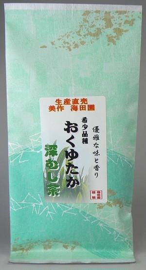 深蒸し茶 おくゆたか 【100g】