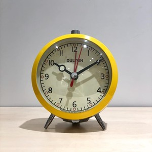 ALARM CLOCK / YELLOW
