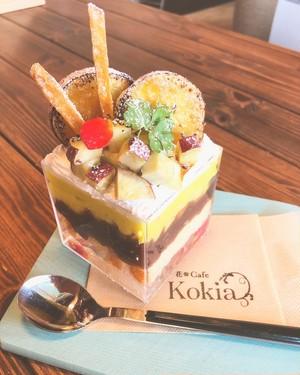 【KOKIA】ハコパフェ おイモ