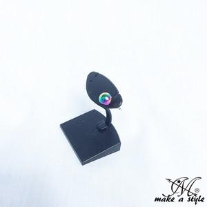 ピアス スタッド ボール シンプル 虹色 マルチカラー 1059