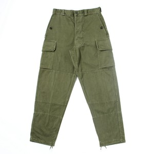 French military M-64 cargo trousers