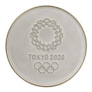 南部鉄器【岩手県】 瓶敷/大(白金) 東京2020オリンピックエンブレム