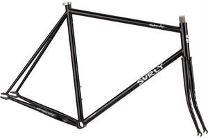 *SURLY* steamroller frame&fork set (black)