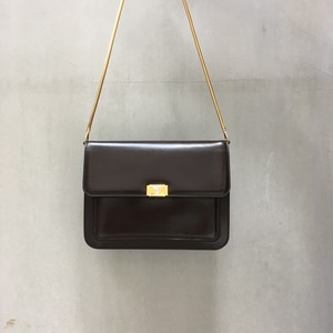 Yves Saint Laurent brown 80's 2way bag