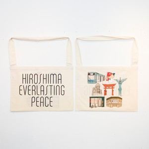 Anoraks | Life Is Journey Tote [HIROSHIMA]