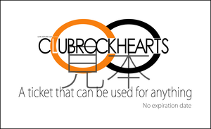CLUBROCKHEARTS なんでも使える券3枚