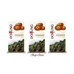 ドイトン マカダミアナッツ クッキー コーヒー/Doitung Macadamia Nut Cookies Coffee 120g×3個