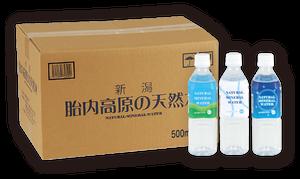 胎内高原の天然水 500ml(24本入)アラカルトラベル