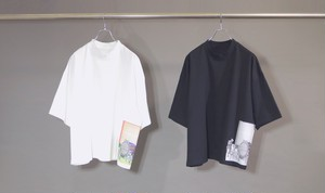 Inside Out Fat T×岡本奇太郎  【BLACK】