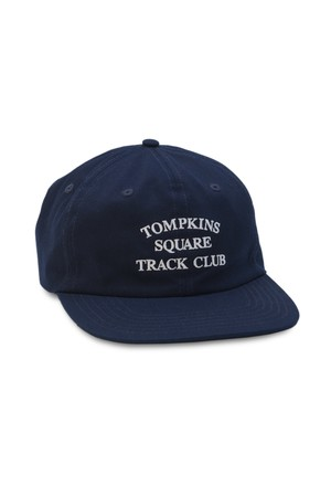 QUARTER SNACKS TRACK CLUB CAP NAVY