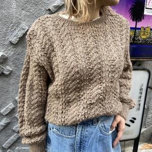 Uruguay pure virgin wool knit ウルグアイ ピュア ウール ニット