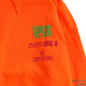 Asuka Langley Shikinami-Test Plug Suit PULL PARKA (ORANGE) /  RADIO EVA